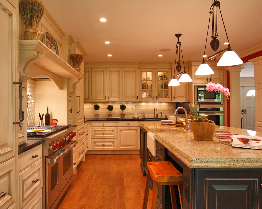 Rustic Country Kitchen in the DC Metro Area